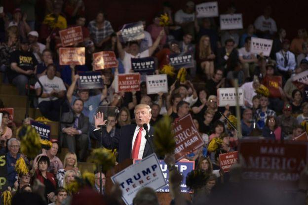 Ông Donald Trump ở Ambridge Philadelphia