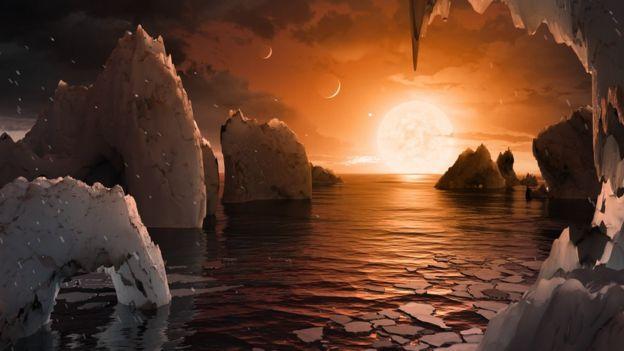 Planeta hallado por la NASA