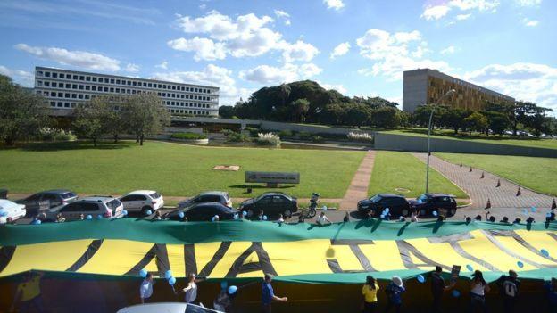 Manifestação em apoio a Lava Jato