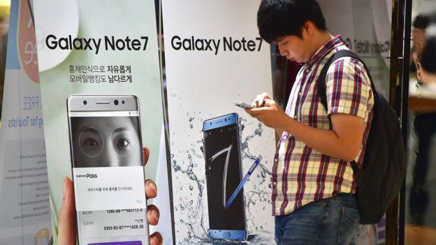 Samsung ផ្អាកការលក់ Galaxy Note 7 ទូទាំងពិភពលោក