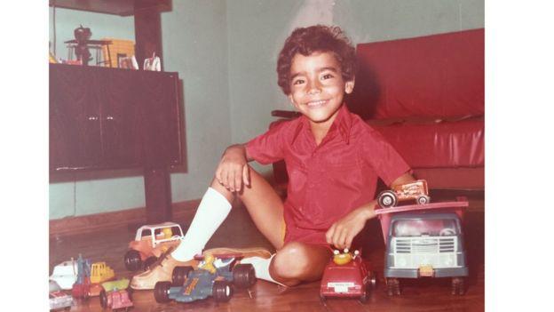Mauro Braga em Cubatão nos anos 1980