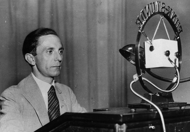 Joseph Goebbels.