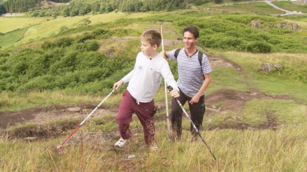 Ethan Loch and Daniel Kish