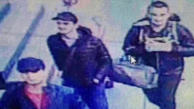 CCTV of the three suspected attackers at Istanbul's Ataturk airport