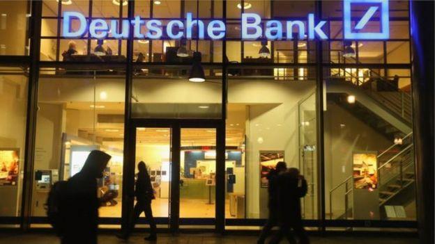 Entrada al Deutsche Bank