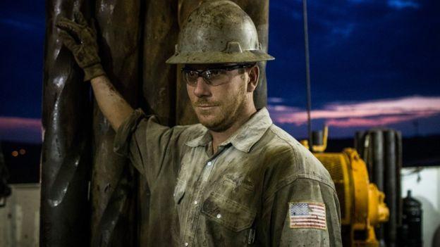 Petroleiro nos Estados Unidos.