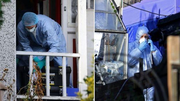 Forensics investigators
