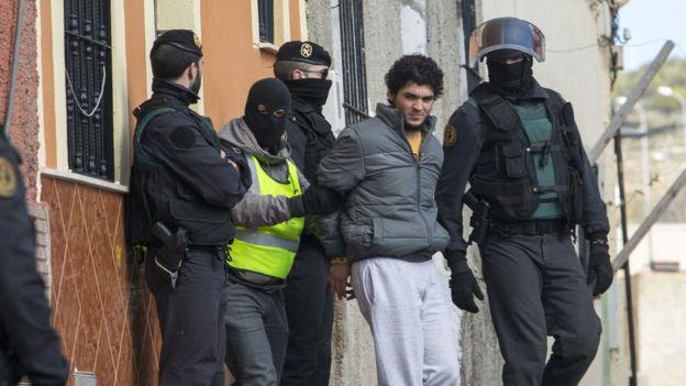 Arresto de un sospechoso yihadista en Meliá, territorio de España en África