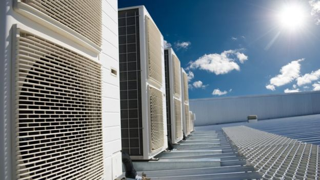Los aires acondicionados fueron una vez una fuente importante de gases CFC que dañan la capa de ozono.