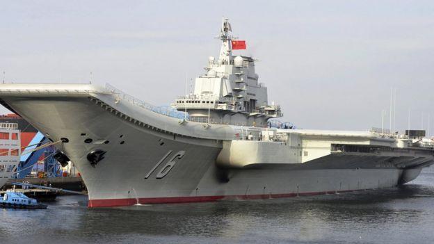 Kapal induk Cina