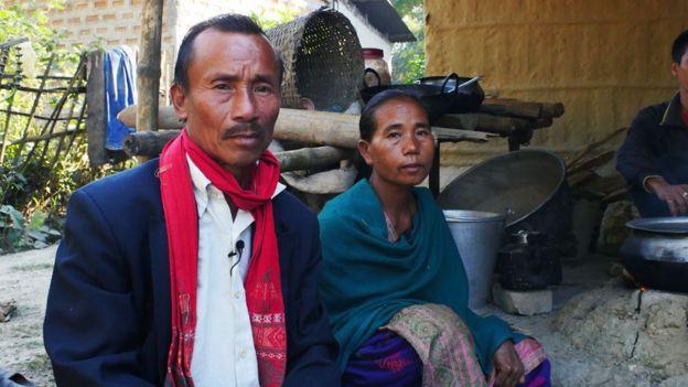 Kachu Kealing y su esposa