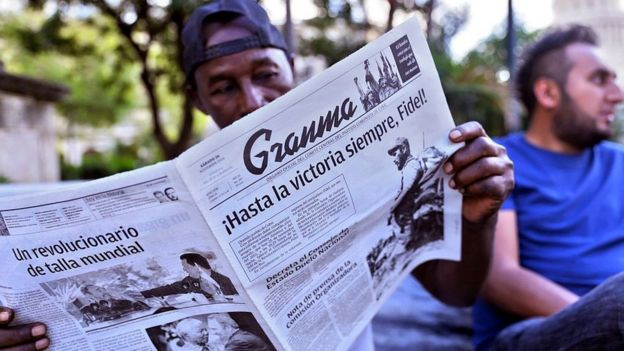 Cubanos rinden homenaje póstumo a Fidel Castro