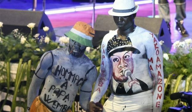 Fans pay tribute to Papa Wemba