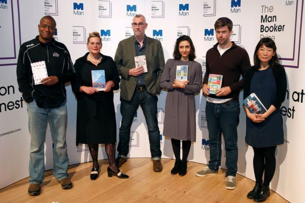 Paul Beatty, Deborah Levy, Graeme Macrae Burnet, Ottessa Moshfegh, David Szalay and Madeleine Thien