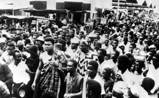 Muhammad Ali in Ghana - 3 June 1964