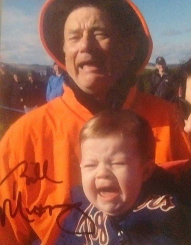 Bill Murray signed picture of Bill Murray