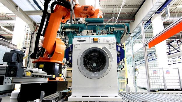 Fabricación de lavarropas