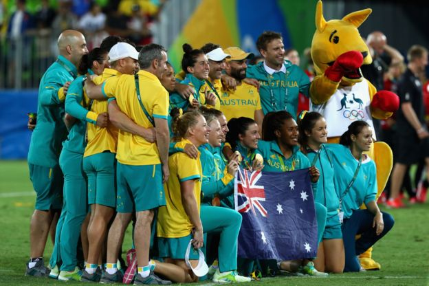 El equipo australiano