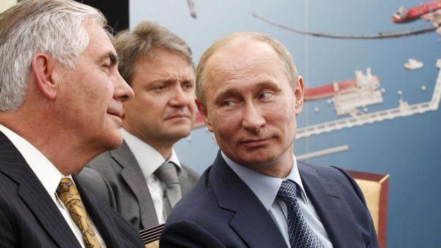 Trump pick Tillerson: 'Fair assumption' Putin behind hacks