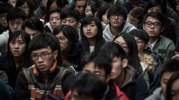 香港學生(資料照片)