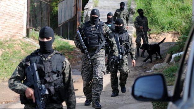 Operación policial en Argentina