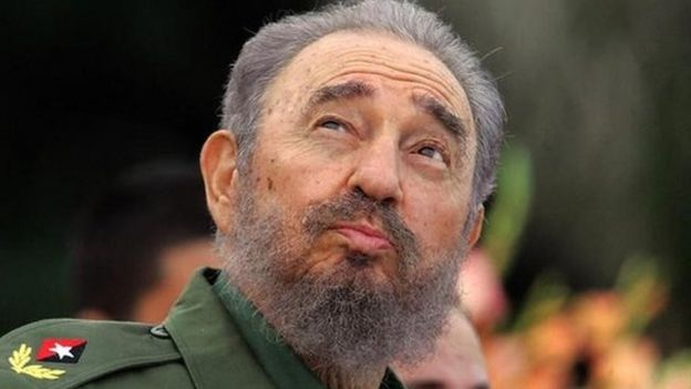 Castro making a speech in 2006