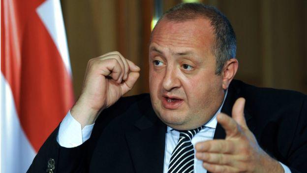 <b>Georgian President</b> Giorgi Margvelashvili - _87849575_georgia_president