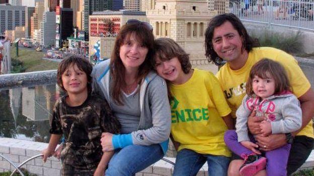 Familia de Gustavo y Mercedes