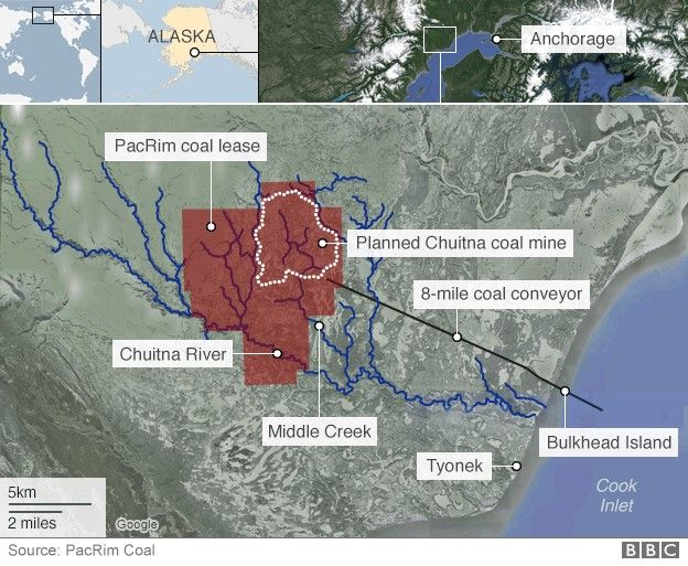 New Alaskan strip coal mine for China, there go the salmon | Peak