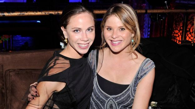 After leaving the White House Barbara (L) founded a non-profit health foundation, and Jenna is a journalist and author