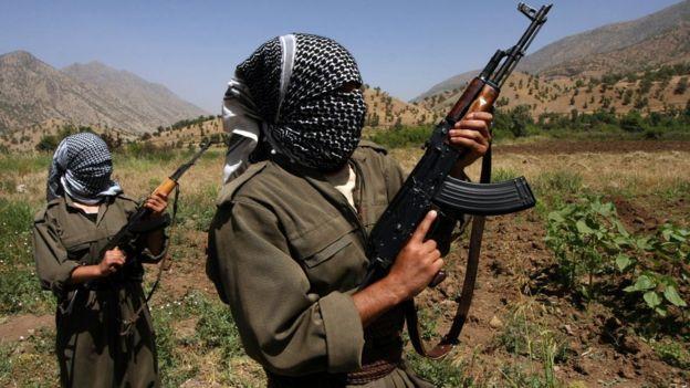 PKK militanları