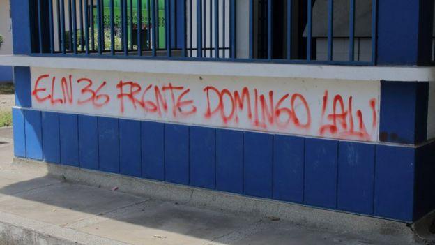 Pintada del Frente Domingo Laín.