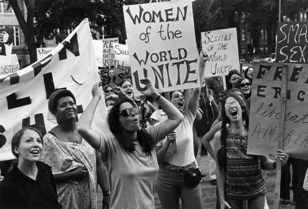 Women's liberation movement in Washington, United States on August 26, 1970