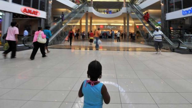 Shopping mall in Soweto