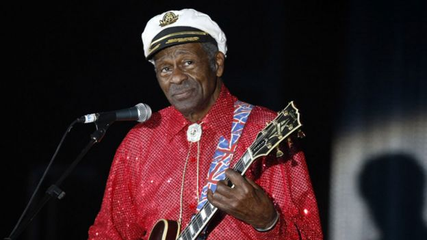 Chuck Berry in 2009