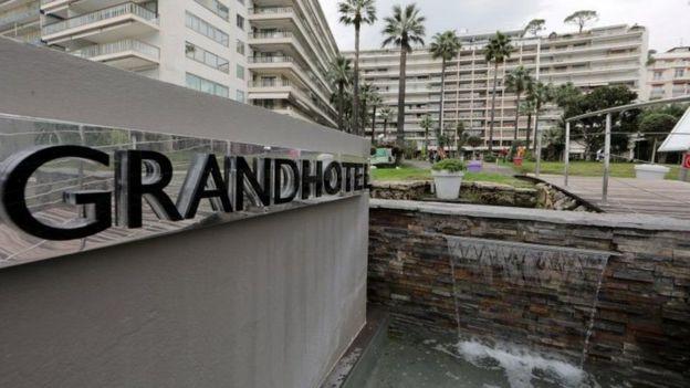 Grand Hotel em Cannes