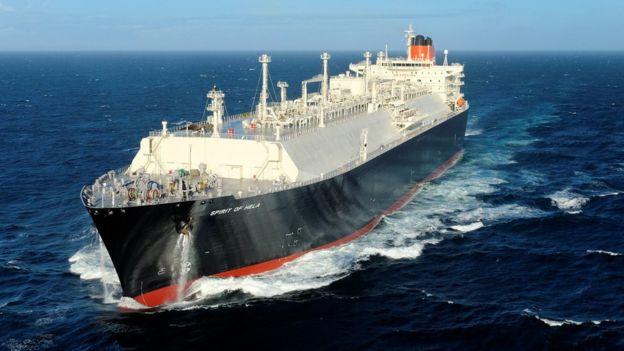 Santos LNG tanker
