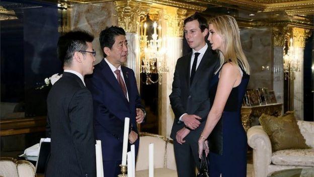 Tras la aparición con el primer ministro japonés, surgieron cuestionamientos sobre cuál será el papel de Ivanka Trump durante el gobierno de su padre.