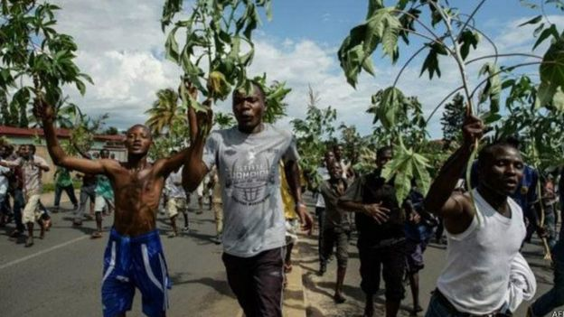 Le Burundi a plongé dans une crise politique après la décision du président Pierre Nkurunziza de briguer un 3e mandat
