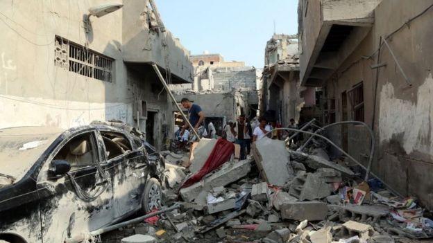 بمباران در یمن