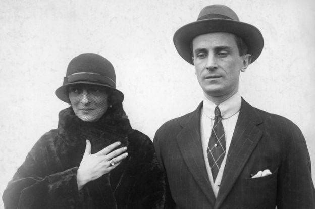 پرنس فلیکس یوسوپوف و همسرش
