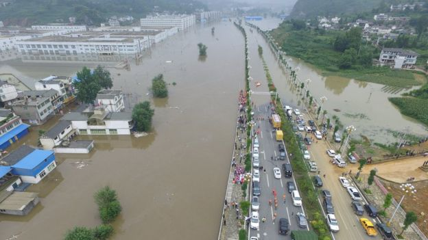 flooding in Guizhou province