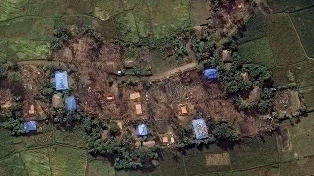 Yıkılan köyler