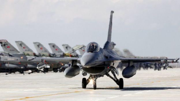 Türk f16 uçakları