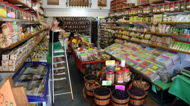 Dietetica en Argentina