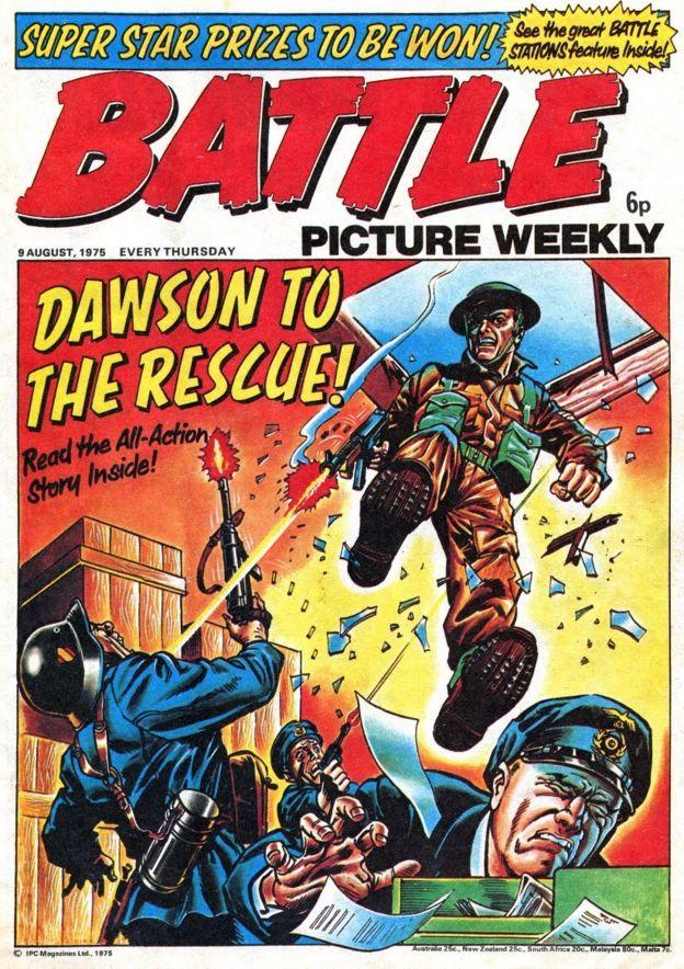 Robot Battle Cat Magazine Cover