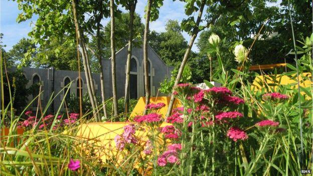 Nigel Dunnett's garden at the RHS flower show