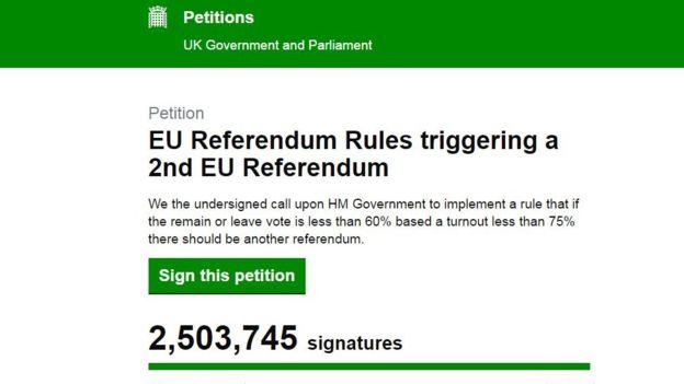La petición