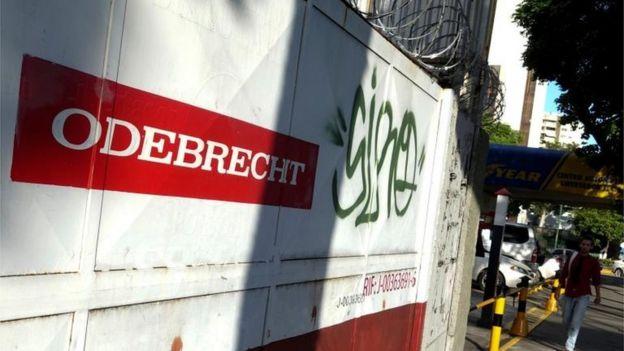 Cartel de Odebrecht.