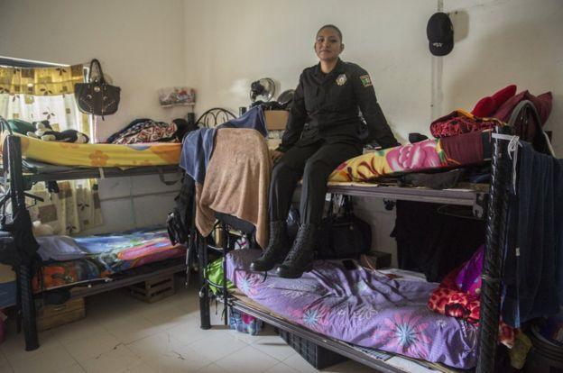墨西哥女警孔奇塔‧洛佩斯的宿舍